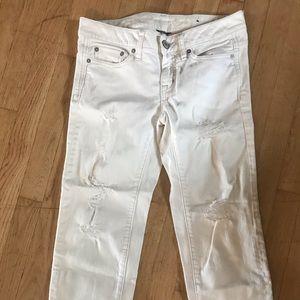 American Eagle boyfriend cropped pants